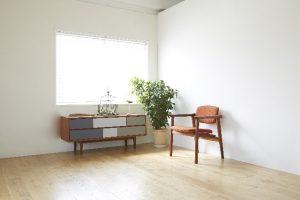 明るい部屋と観葉植物