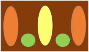 類系色の配色例