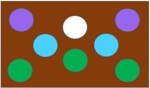 同系色の配色例