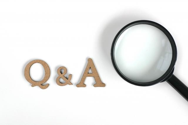 Q&Aと虫眼鏡